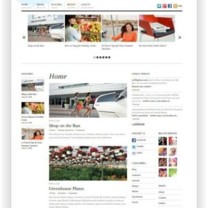 WordPress Magazine 3 columns