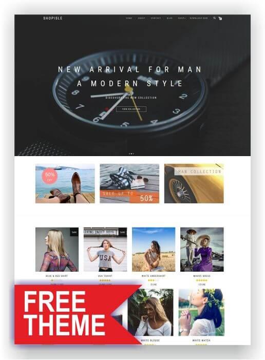 Free WooCommerce Theme