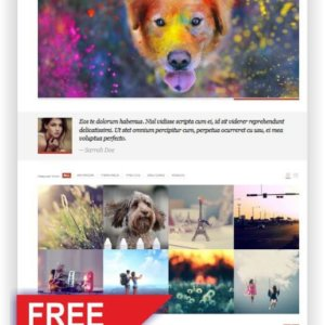 WordPress Gratis Blog Thema