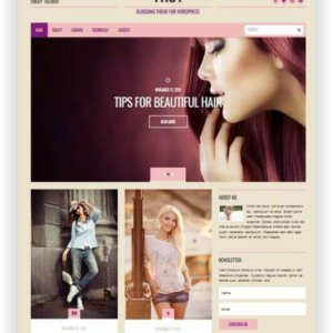 WordPress Fashion Blog Thema