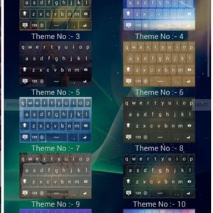 Android Keyboard Thema