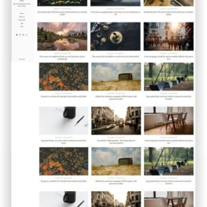 Ghost Blog Template