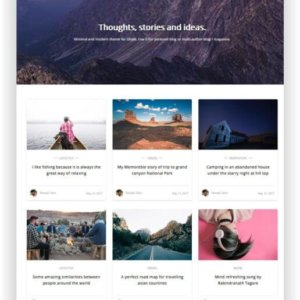 Ghost Blog Theme Polar