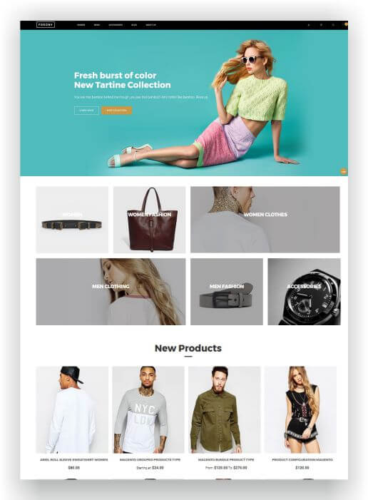 Magento 2 Free Template