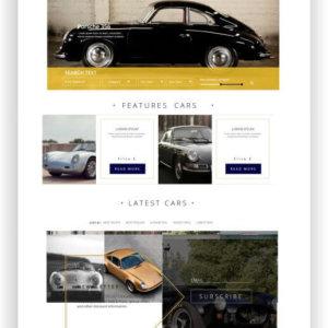 HTML5 Free Motor Theme