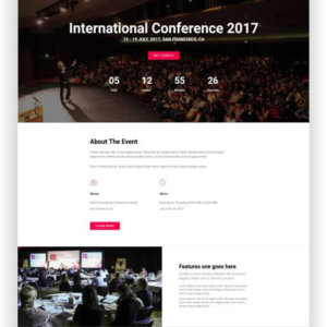 HTML5 Conference Theme