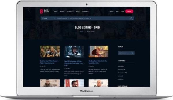 HTML5 Film Theme
