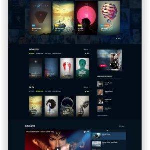 Webseite für Film und Videos