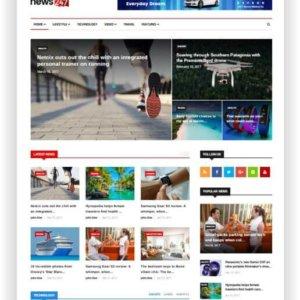 HTML5 News Magazine