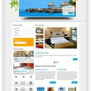 Joomla Hotel Webseite