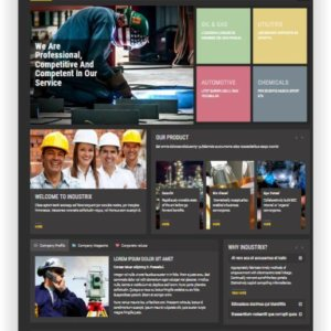 Joomla Industrial Template