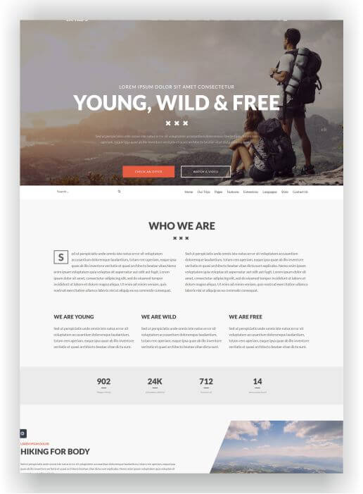 Joomla Travel Agency Theme