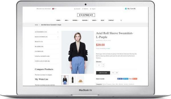 Magento 2 Fashion Shop Template