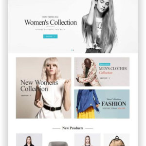 Magento Fashion Shop Template