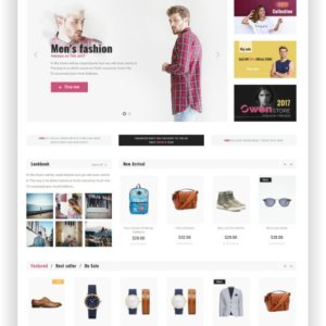 Elegant Fashion Shop Theme