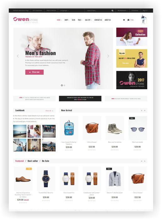 Elegant Fashion Shop Theme