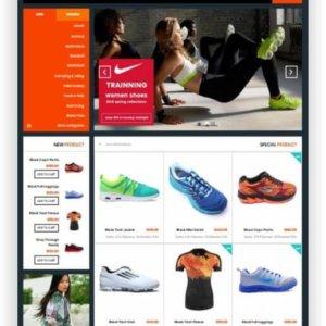 Magento responsive Shoptemplate