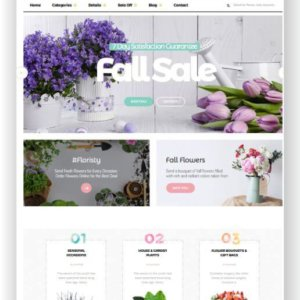 Magento 2 Flower Shop Website