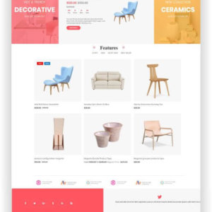 Magento 2 Free Furniture Theme