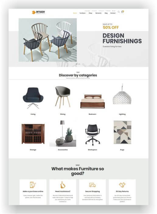 Magento 2 Furniture Theme