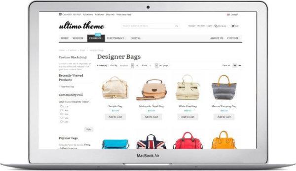 Magento Fashion Shop Thema