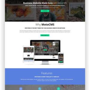 MotoCMS Business Website Spectrum
