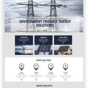 MotoCMS Alternative Power Website