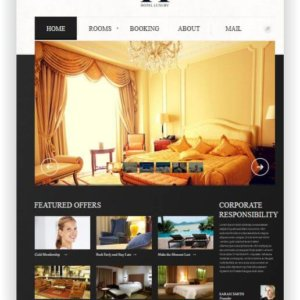 MotoCMS Luxury Hotel Theme