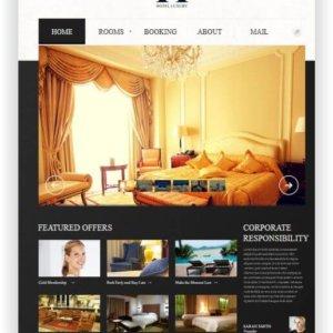 MotoCMS Luxury Hotel Theme