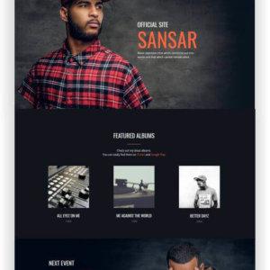 MotoCMS Musician Website
