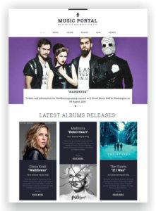 Musicmagazine Template