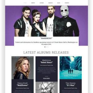 Musikmagazin Vorlage