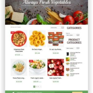 WooCommerce Food Onlineshop