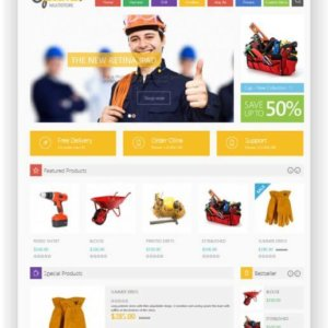 PrestaShop Multipurpose Theme Optima