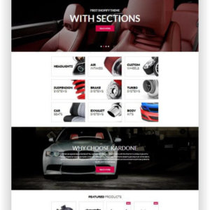 Shopify Car Parts Shop