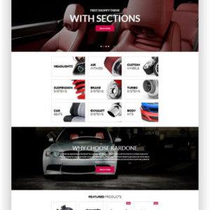 Shopify Autoteile Shop