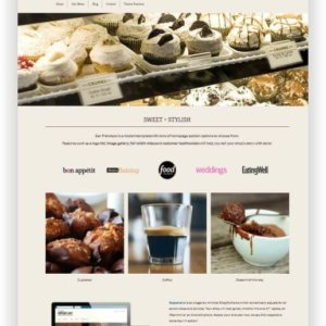 Shopify Theme for Bakery