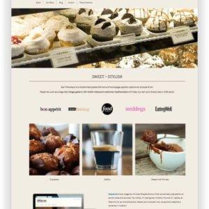 Shopify Bäckerei Shop Thema