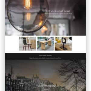 Shopify Retina Designer Shop Theme