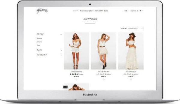 Shopify Parallax Fashion Theme