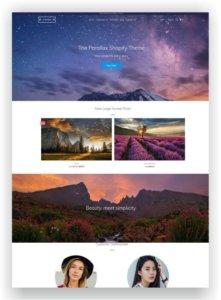 Shopify Photo Theme