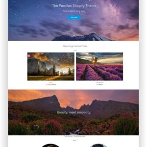 Shopify Photo Theme
