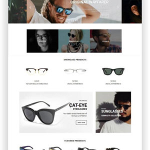 Shopify Eye Glasses Theme