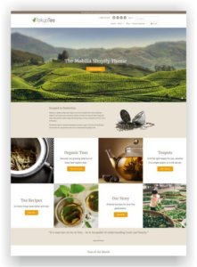 Shopify Tea and Spice Shop Theme