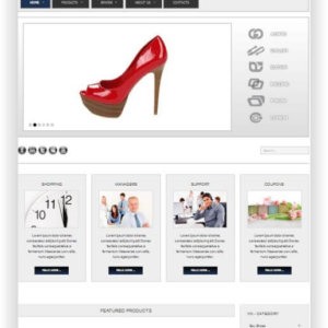 VirtueMart Shoe Store Theme