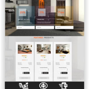 VirtueMart Furniture Shop Template