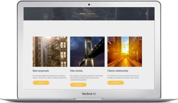 Immobilien WordPress Thema