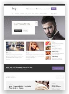 WordPress Theme for Hairdresser