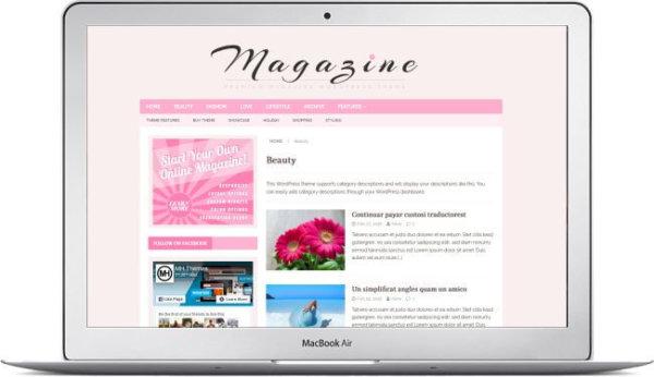 WordPress Frauen Thema