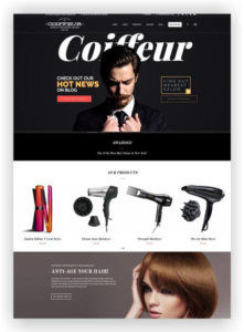 WordPress Hair Salon Theme